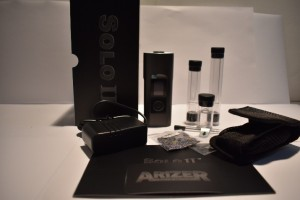 Arizer Solo II Box & Accessories Retail Kit